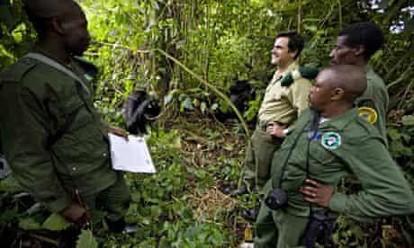 The Rangers of Virunga National Park with Emmanuel De Merode