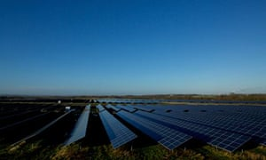 Lark Energy's Wymeswold Airfield, until recently the largest solar farm in UK