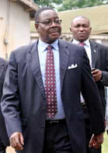 MDG : Malawi elections candidates : DPP Peter Mutharika