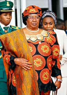 MDG : Malawi elections candidates : Malawi's President Joyce Banda