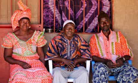 MDG : Casamance community forest project: Binta Sidebek, Ansumana Sanneh and Bakari Jallou, Senegal