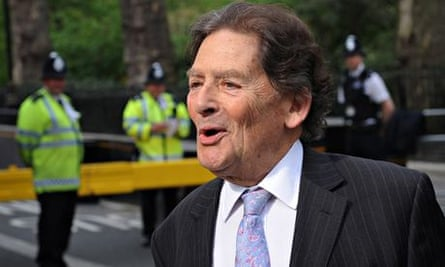 Climate skeptic and Former Chancellor of the Exchequer Nigel Lawson