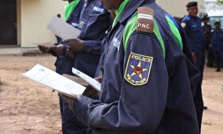 MDG : DRC Police trained on programme funded by Dfid (SSAPR)