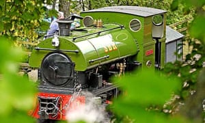 Country Diary : The locomotive Harrogate, hissing steam behind the sycamores