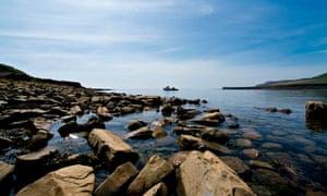 Kimmeridge Bay Marine Conservation Zone in Dorset