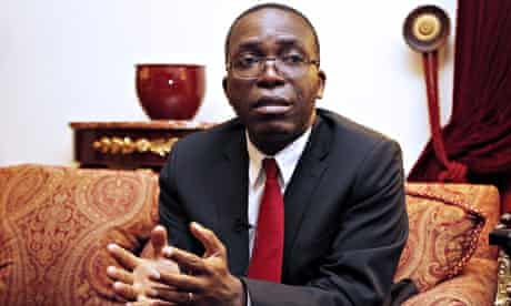MDG : Prime Minister of the Democratic Republic of the Congo ( DRC ) Augustin Matata Ponyo Mapon