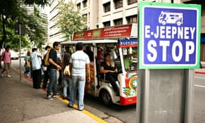 MDG : ICSC E-Jeepneys in Philippines