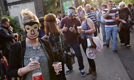 London Zoo hosts Zoo Lates parties