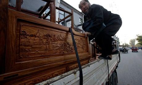 China's red furniture craze fuelling illegal logging in
