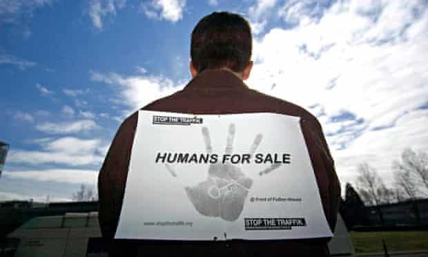 MDG : Slavery in UK : Stop the Traffik campaign