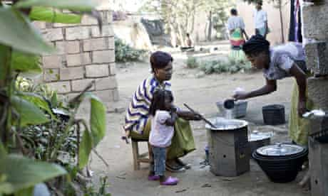 MDG : Zambia nutrition : DFID and New Alliance : stove supplied by (CDM) Clean Development Mechanism