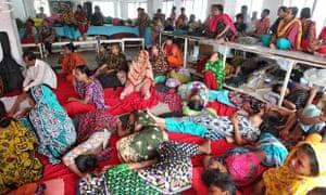 MDG : Tuba Group Garment Workers On Hunger Strike Dhaka, Bangladesh