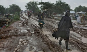 MDG : South Sudan : United Nations' Malakal Camp for Internally Displaced People, (IDP)