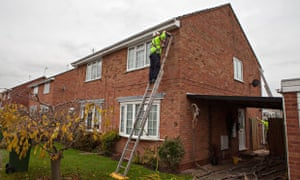 Green deal energy efficiency : Cavity wall insulation
