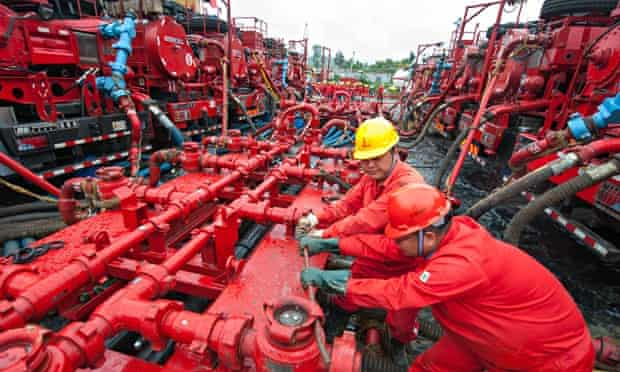 Hydraulic fracking for shale gas in Sichuan China