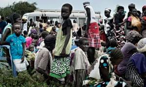 MDG : South Sudan IDPs in Pathai, Jonglei state
