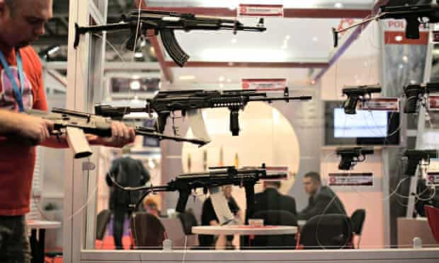 MDG : Arms trade : London arms fair