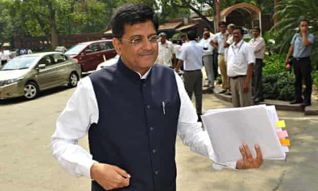 Union Power and Coal Minister Piyush Goyal