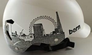 Bike blog: Bern Watts London Satin White helmet