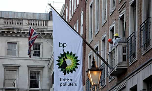 Greenpeace Protest at BP s London HQ