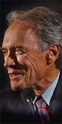 Clint Eastwood at the NFT
