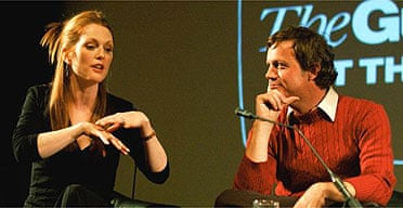 Julianne Moore and Todd Haynes at the NFT