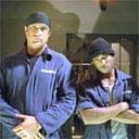 Steven Seagal and Ja Rule in Half Past Dead