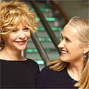 Meg Ryan and Jane Campion at the opening of the London Film Festival