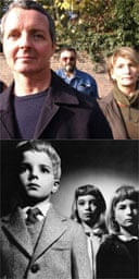 The cast of Village of the Damned, then and now