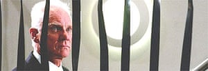 Malcolm McDowell in I'll Sleep When I'm Dead