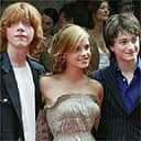 Rupert Grint, Emma Watson and Daniel Ratcliffe at the New York premiere of Harry Potter and the Prisoner of Azkaban