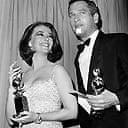Natalie Wood and Paul Newman