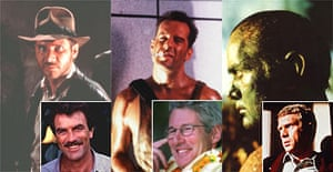 As they might have been: Harrison Ford as Indiana Jones (not Tom Selleck), Bruce Willis in Die Hard (not Richard Gere), and Martin Sheen in Apocalypse Now (not Steve McQueen)
