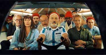 A scene from The Life Aquatic