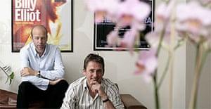 Eric Fellner and Tim Bevan of Working Title Films