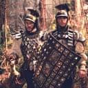 Heath Ledger and Matt Damon in The Brothers Grimm
