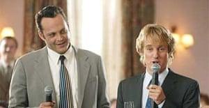 The Wedding Crashers.Wedding Crashers Film Review Film The Guardian