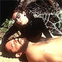 Raul Julia and Sonia Braga in Kiss of the Spider Woman