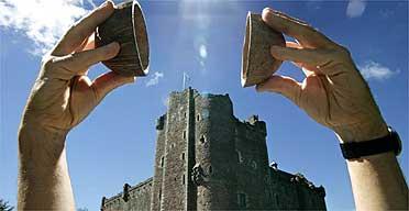 Doune Castle, Monty Python location