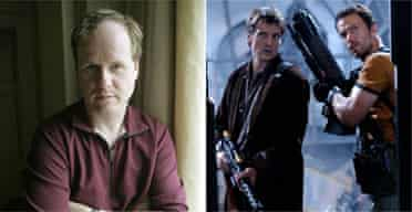 Joss Whedon, and Nathan Fillion with Adam Baldwin in Serenity