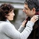 Kristin Scott Thomas and Rowan Atkinson in Keeping Mum