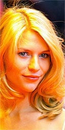 Claire Danes a the premier of Stage Beauty, August 2004