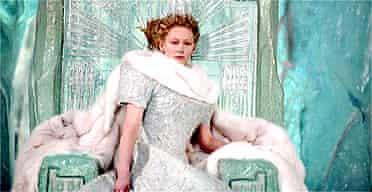 Tilda Swinton in Chronicles of Narnia Decmeber 2005