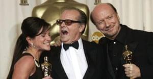 Crash, Paul Haggis, Cathy Schulman and Jack Nicholson