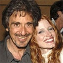 Al Pacino and his Salome, Jessica Chastain