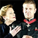 Samantha Bond and Sean Bean in a West End production of Macbeth
