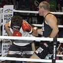 Uwe Boll in the ring with one of his critics