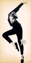 Audrey Hepburn in Gap ad for skinny pants