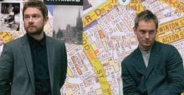 Jude Law and Martin Freeman in Breaking and Entering