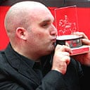 Shane Meadows with the Rome film festival special jury prize
